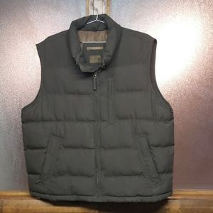 St. John's bay chocolate puffer vest